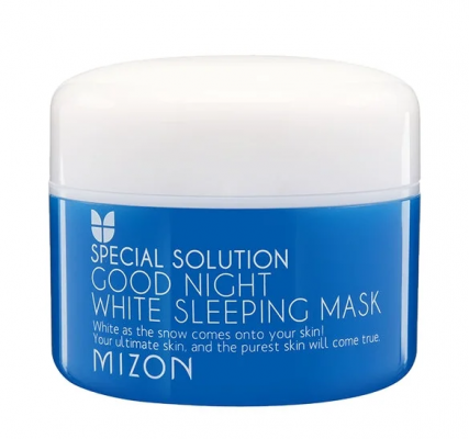 Маска ночная осветляющая MIZON Good Night White Sleeping Mask 80мл: фото