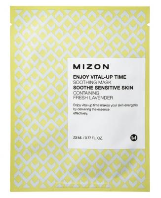 Тканевая маска успокаивающая MIZON Enjoy Vital-Up Time Soothing Mask 23мл: фото