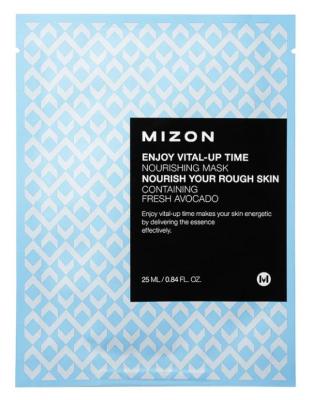Тканевая маска питательная MIZON Enjoy Vital-Up Time Nourishing Mask 25мл: фото