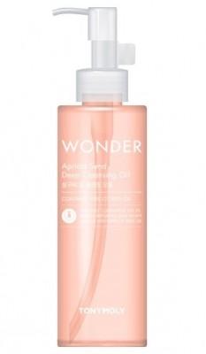 Гидрофильное масло с экстрактом абрикосовых косточек TONY MOLY Wonder apricot deep cleansing oil 190 мл: фото
