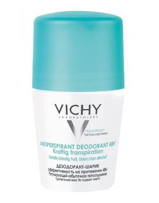 Дезодорант-шарик регулирующий избыточное потоотделение VICHY DÉODORANT 50мл: фото