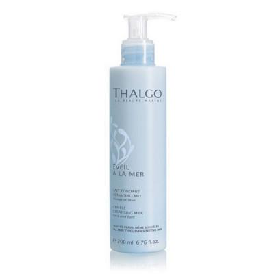 Мягкое очищающее молочко для лица THALGO 200 мл: фото