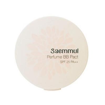 Пудра компактная ароматизированная THE SAEM Sammul Perfume BB Pact SPF25 PA++ 23. Cover Beige 20гр: фото