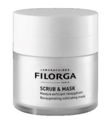 Маска отшелушивающая оксигенирующая Filorga Scrub & Mask 55 мл: фото