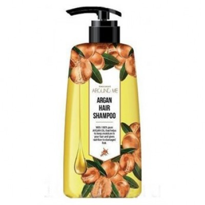 Шампунь для поврежденных волос Welcos Around me Argan Hair Shampoo 500мл: фото