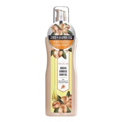 Масло для поврежденных волос Welcos Around me Argan Damage Hair Oil 155мл: фото