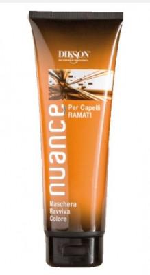 Маска для рыжих волос Dikson Nuance Maschera Raviva Color for Copper - Colored Hair Ramati 250мл: фото