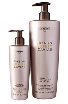 Шампунь интенсивный ревитализирующий с Complexe Caviar Dikson LUXURY CAVIAR shampoo 300мл: фото