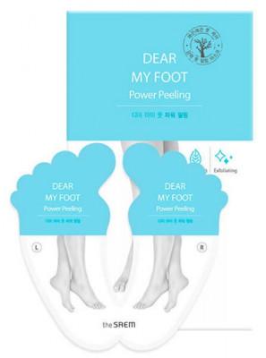 Пилинг для ног THE SAEM Dear My Foot Power Peeling 40мл*2: фото