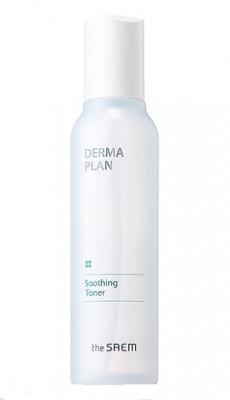 Тонер для чувствительной кожи THE SAEM DERMA PLAN Soothing Toner 155мл: фото