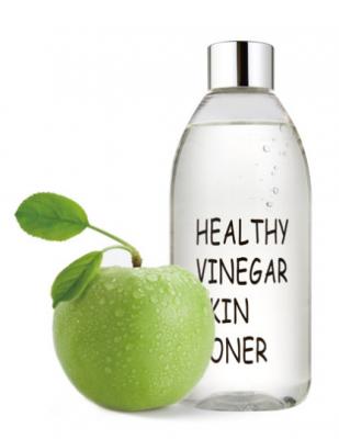 Тонер для лица ЯБЛОКО REALSKIN Healthy vinegar skin toner Apple 300мл: фото