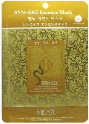 Маска тканевая Змеиный яд Mijin Syn-Ake Essence Mask 23гр: фото