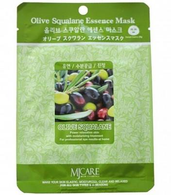 Маска тканевая Олива Mijin Olive Squalane Essence Mask 23г: фото
