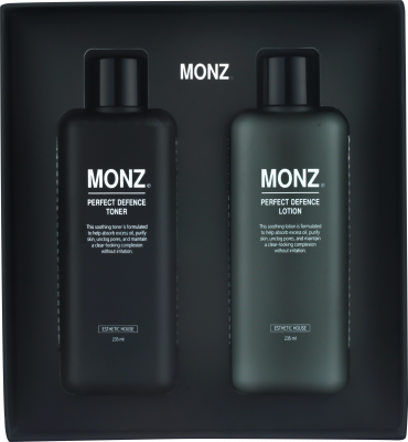 Набор тонер+лосьон МУЖСКОЙ ESTHETIC HOUSE MONZ PERFECT DEFENCE SET (PERFECT DEFENCE TONER & PERFECT DEFENCE LOTION): фото
