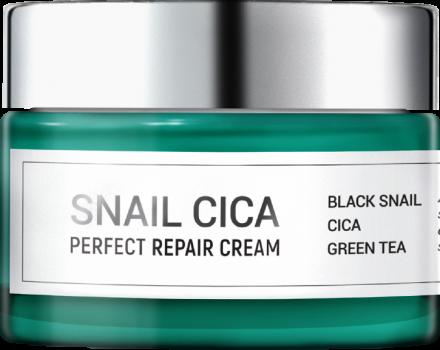 Крем для лица МУЦИН УЛИТКИ и ЦЕНТЕЛЛА ESTHETIC HOUSE Snail Cica Perfect Repair Cream 50 мл: фото