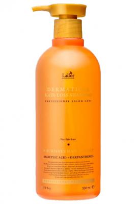 Профессиональный шампунь для тонких волос DERMATICAL HAIR-LOSS SHAMPOO FOR THIN HAIR 530мл: фото