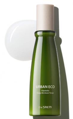 Тонер интенсивно увлажняющий с экстрактом новозеландского льна The Saem Urban Eco Harakeke Deep Moisture Toner 150мл: фото