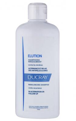 Мягкий балансирующий шампунь Ducray Elution Shampooing doux équilibrant 400мл: фото