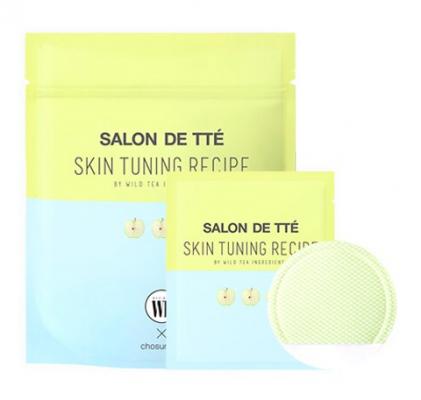 Очищающие пэды с яблочными экстрактами Wonder Bath Salon de Tte Apple Edition 20шт: фото