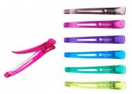 Зажим пластиковый Hairway 110мм, 6шт: фото