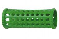 Бигуди пластиковые Sibel 25мм зеленые 10шт: фото