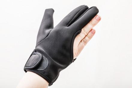 Перчатка термостойкая для работы с инструментами Harizma Professional черный: фото