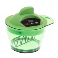 Профессиональный электрический миксер для смешивания краски Harizma Professional зеленый: фото