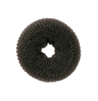 Подкладка-кольцо для причесок малая Harizma Professional брюнет: фото