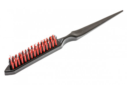 Щётка для начёса с пластиковой щетиной Harizma Professional : фото