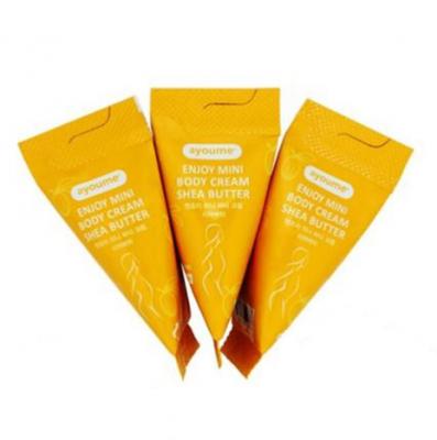 Набор кремов для тела с маслом ши AYOUME Enjoy mini body cream SHEA BUTTER Set 10г*100шт: фото