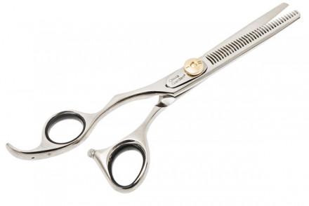 Филировочные ножницы для левши Olivia Garden SwivelCut 635: фото