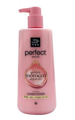Кондиционер для поврежденных волос Mise En Scene Perfect serum rinse airy volume 680мл: фото