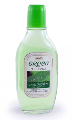 Лосьон увлажняющий для ухода за сухой кожей Meishoku Green plus aloe moisture lotion 170мл: фото