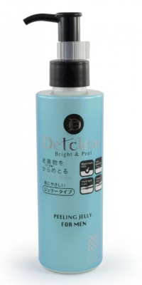 Пилинг-гель очищающий для мужчин Meishoku Aha&bha peeling gel men 180мл: фото