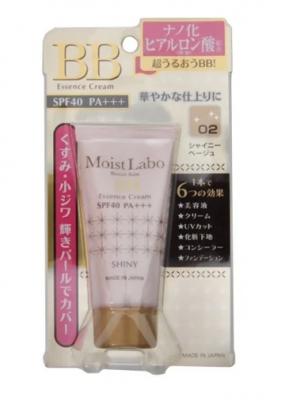 Крем-эссенция тональный Meishoku Moisto labo bb moisture essense cream тон 02 беж 33г: фото