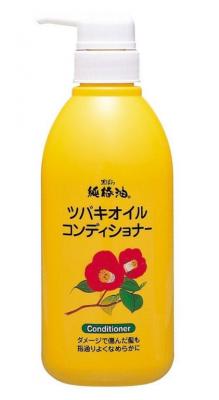 Кондиционер для поврежденных волос Kurobara Camellia oil hair conditioner 500мл: фото