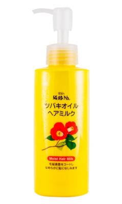 Молочко для волос с маслом камелии японской Kurobara Camellia oil hair milk 150мл: фото