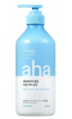 Шампунь для волос против перхоти KeraSys Derma&more aha cooling 600мл: фото