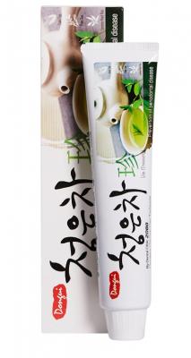 Зубная паста Восточный чай KeraSys Dental clinic 2080 chungeun cha gum 130г: фото