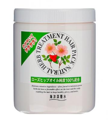 Маска с маслом шиповника для нормальных волос JunLove Natural Herb Treatment New Relax 800мл: фото