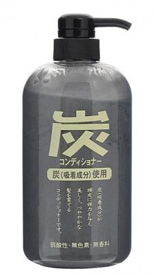 Кондиционер для волос с древесным углем JunLove Charcoal conditioner 600мл: фото