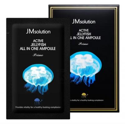 Сыворотка ампульная с медузой JMsolution One ampoule prime jellyfish 2мл*30шт: фото