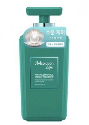 Кондиционер для волос с жемчугом JMsolution Solution marine luminous fresh treatmen 500мл: фото