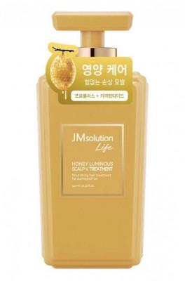 Кондиционер для волос с экстрактом меда JMsolution Solution honey luminous scalp vtreatment 500мл: фото