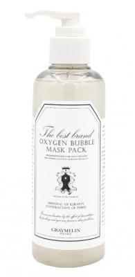 Маска для лица очищающая кислородная Graymelin Oxygen bubble mask pack 200мл: фото