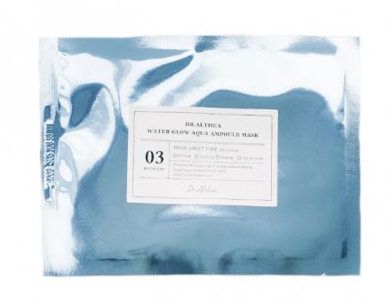 Маска тканевая увлажняющая Dr.Althea Water glow aqua ampoule mask 28г: фото