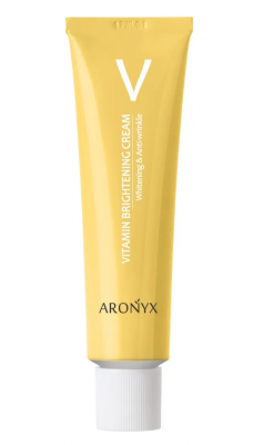 Крем тонизирующий витаминный с пептидами MediFlower Aronyx Vitamin brightening сream 50мл: фото